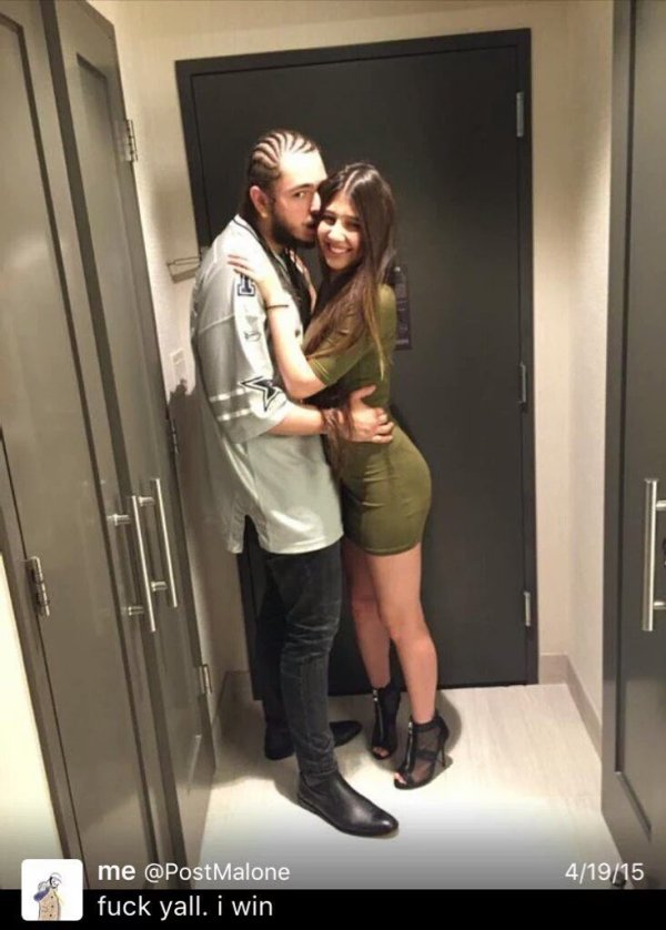 """Jack mull on Twitter: """"Show her off like post Malone shows ..."""