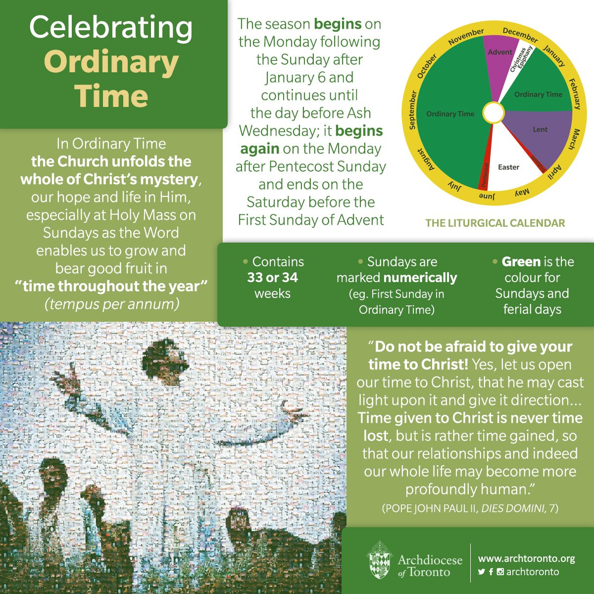 Archdiocese Of Toronto On Twitter Ordinary Time Begins