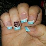 Natasha Evelyn Lemoi On Twitter Got Some Fox Racing Nails Love Them Foxracingnails Aqua Foxhead Https T Co Vxlxzsyrz1