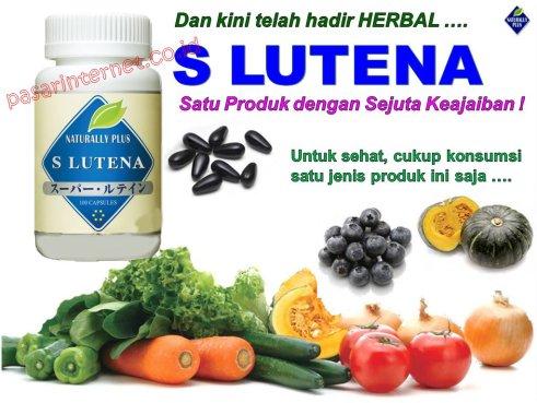 S LUTENA Obat mata Herbal Alami