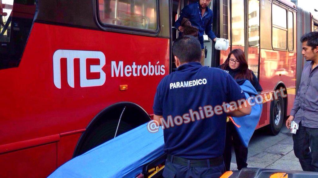 Accidentes En Metrob U00fas Dejan Ocho Lesionados