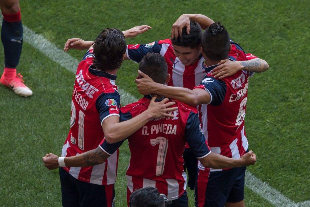 Goles Chivas vs Atlas juego de vuelta