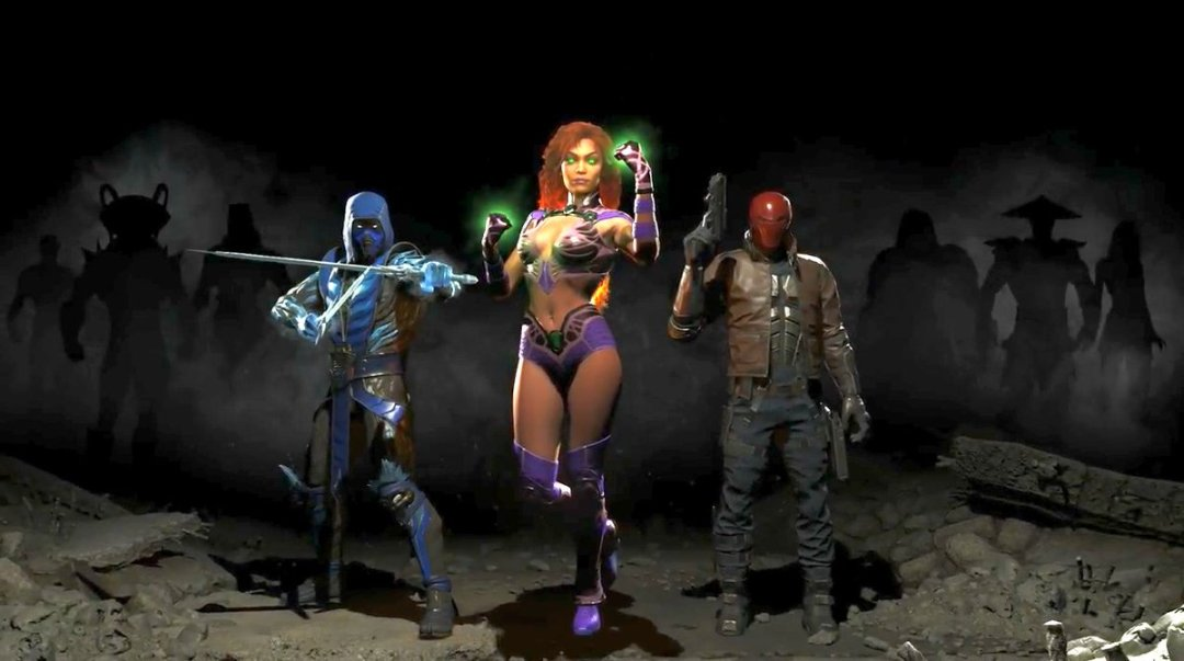 Injustice 2 Fighter Pack Revealed