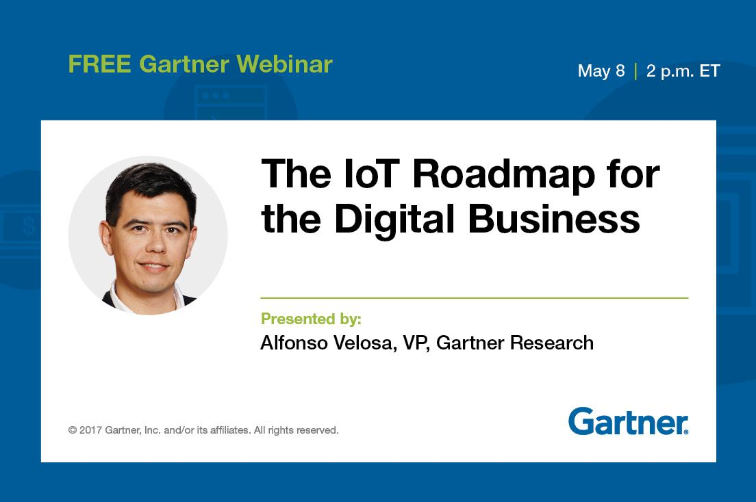 Webinar, 5/8, 2 pm ET: The #IoT Roadmap for the #Digital Business
