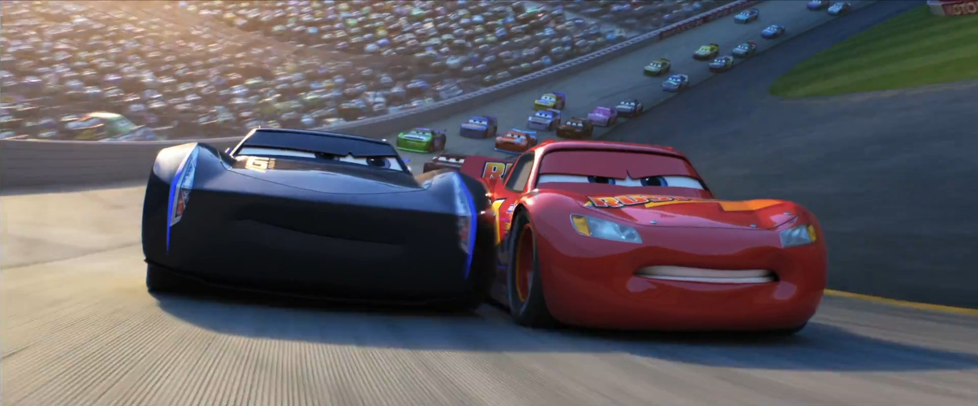 Cars 3 Rivalry Trailer Featuring Lightning McQueen