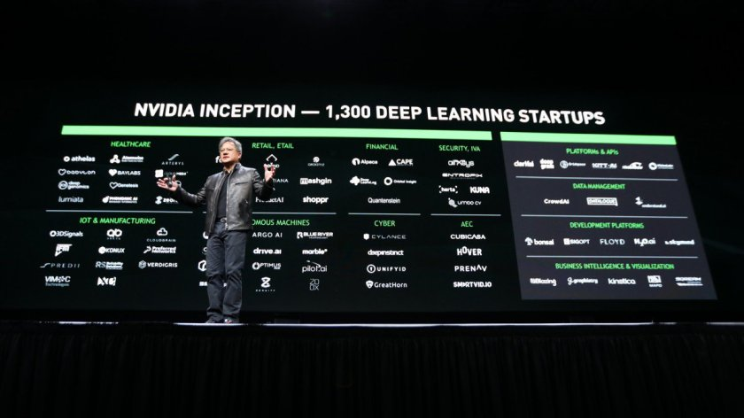 "Nvidia CEO: ""Software is eating the world, but #AI is going to eat software"" on @techreview"