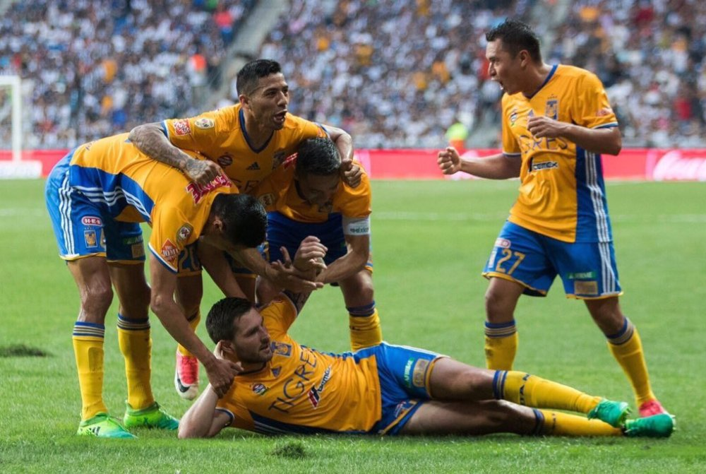 Resumen Tigres vs Monterrey 2017