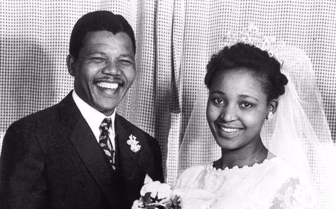 "Facts About Africa on Twitter: ""Wedding pictures of Nelson Mandela and  Winnie Mandela (née Madikizela). 14th of June 1958. https://t.co/1svRR8xEVD"""
