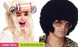 Image result for funny wigs