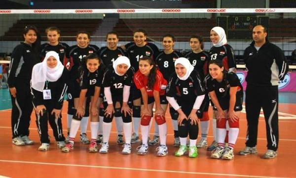 The egyptian women's national volleyball team advances to ...