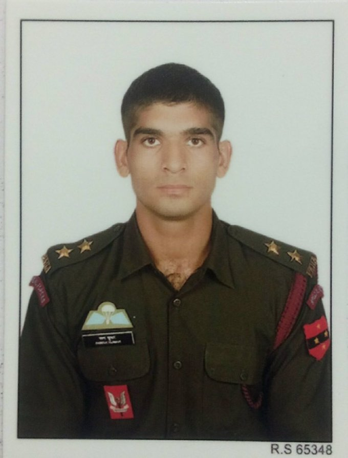 """nitin a. gokhale on twitter: """"this young para-commando was"""