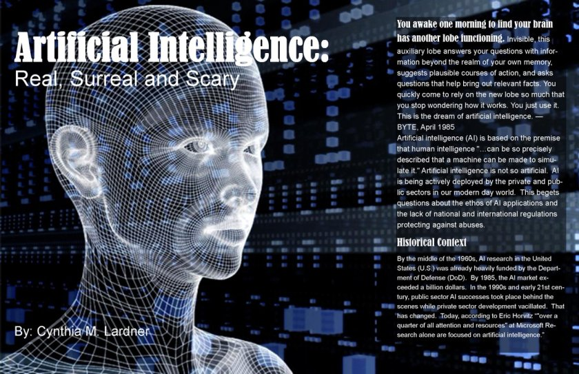 Artificial Intelligence A must ready by Cynthia Lardner   #artificialIntelligence  #AI
