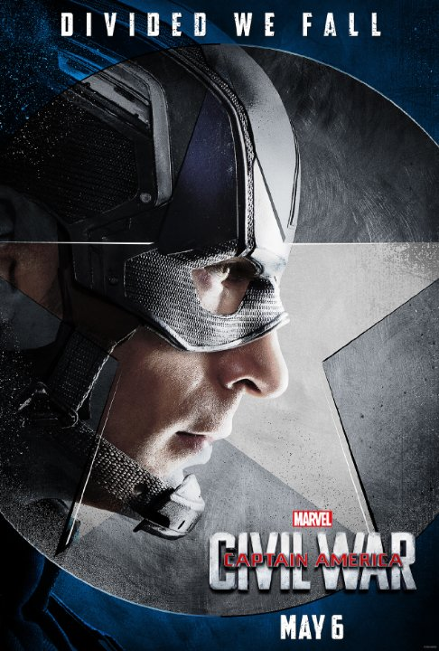 "Captain America: Civil War Character Posters Showcase ""Team Cap"" 1"