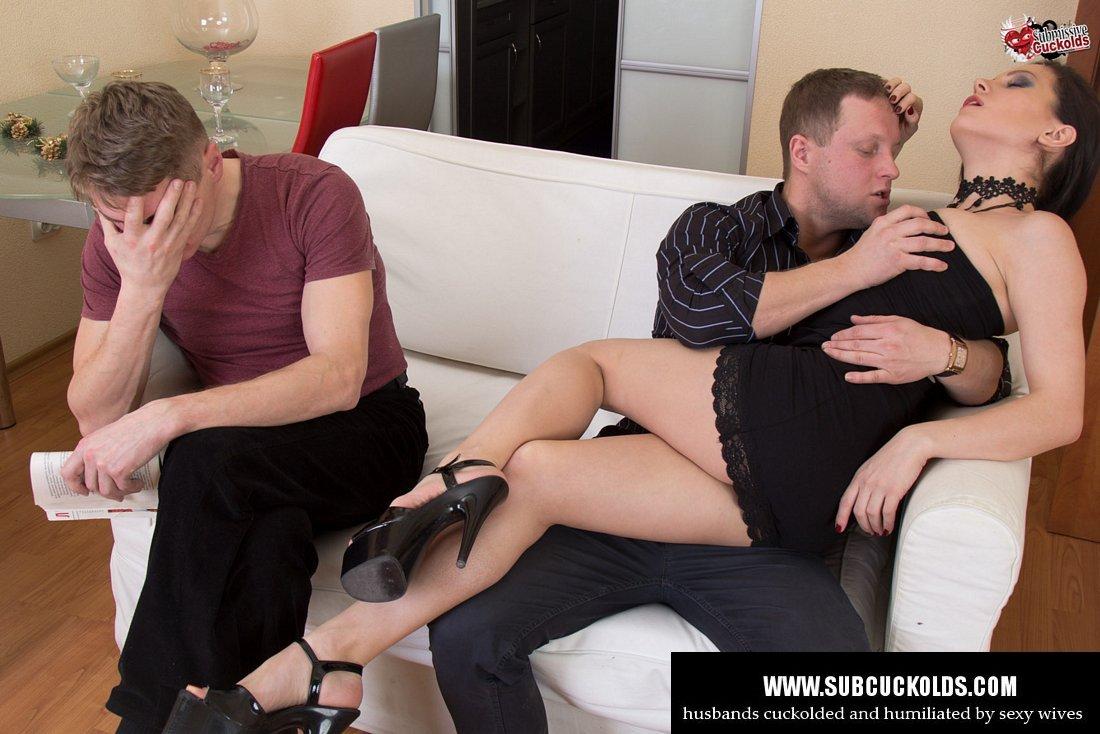 Catch wife with dildo