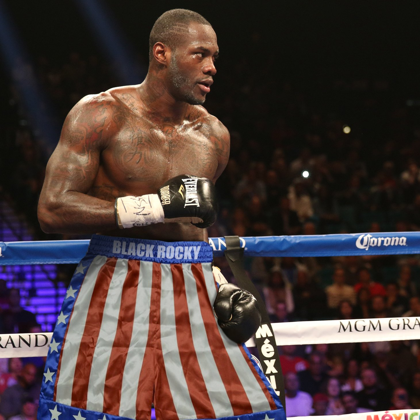 Deontay Wilder On Twitter To Beat Me He Will Have To