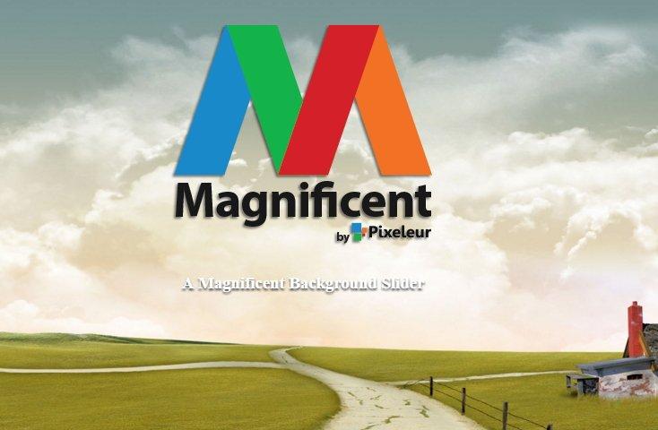 Angular magnificent - Module to create a fullscreen background slider |  #angularjs