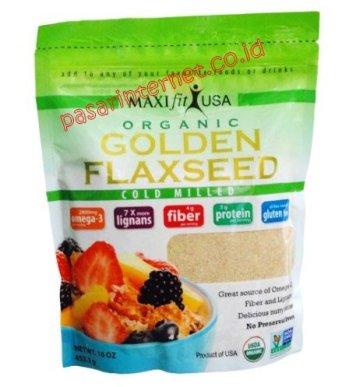 Maxifit Organic Golden Flaxseed