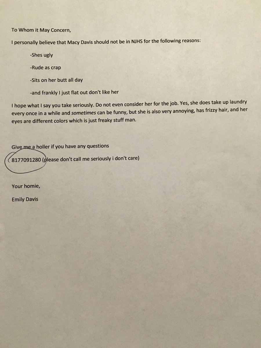 Funniest recommendation letter howtoviews funny reference letter
