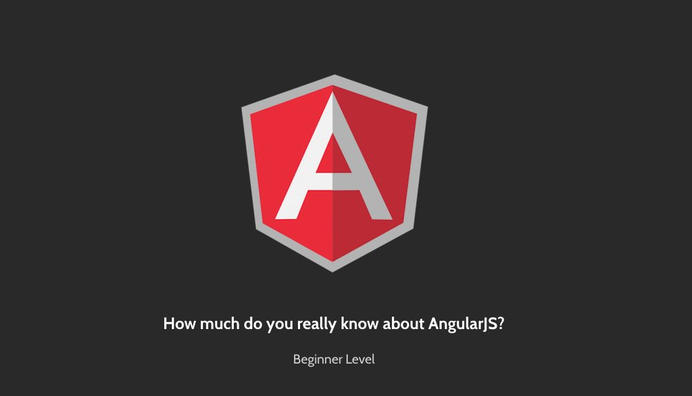 How much do you really know about #AngularJS? Take the quiz!