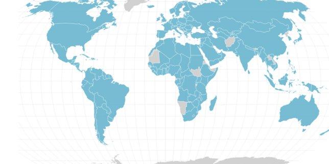 Les 205 pays impliqués dans les #PanamaPapers  https://t.co/17zCciJGrF