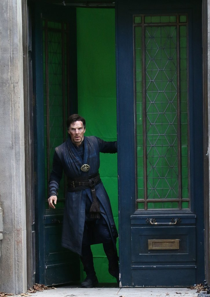 Marvel Studios' Doctor Strange Set Photos 9