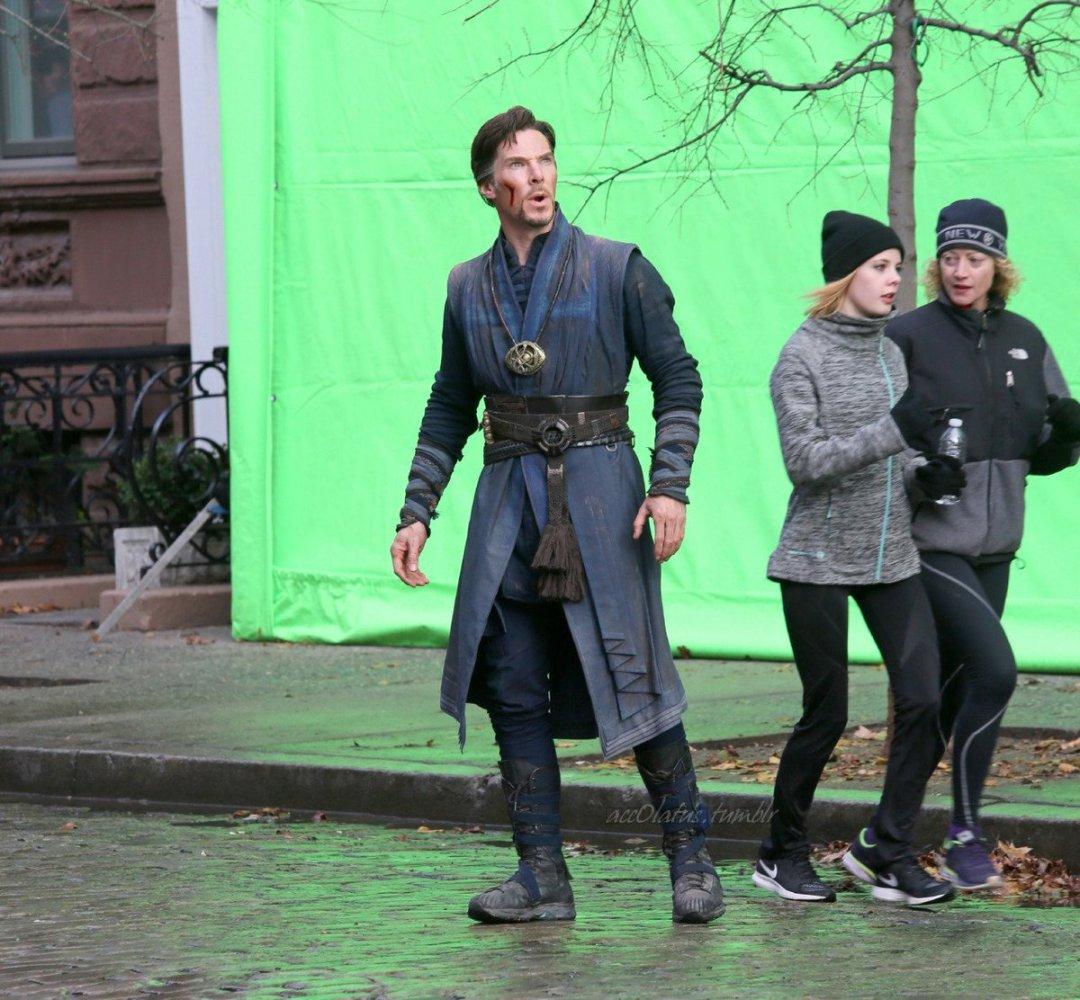 Marvel Studios' Doctor Strange Set Photos 12