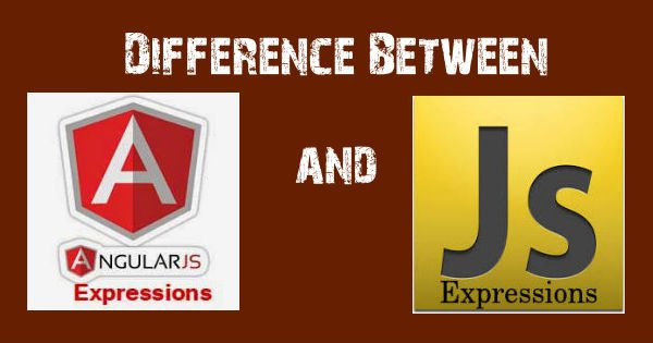 Difference between #AngularJS and #JavaScript Expressions.  #webdev