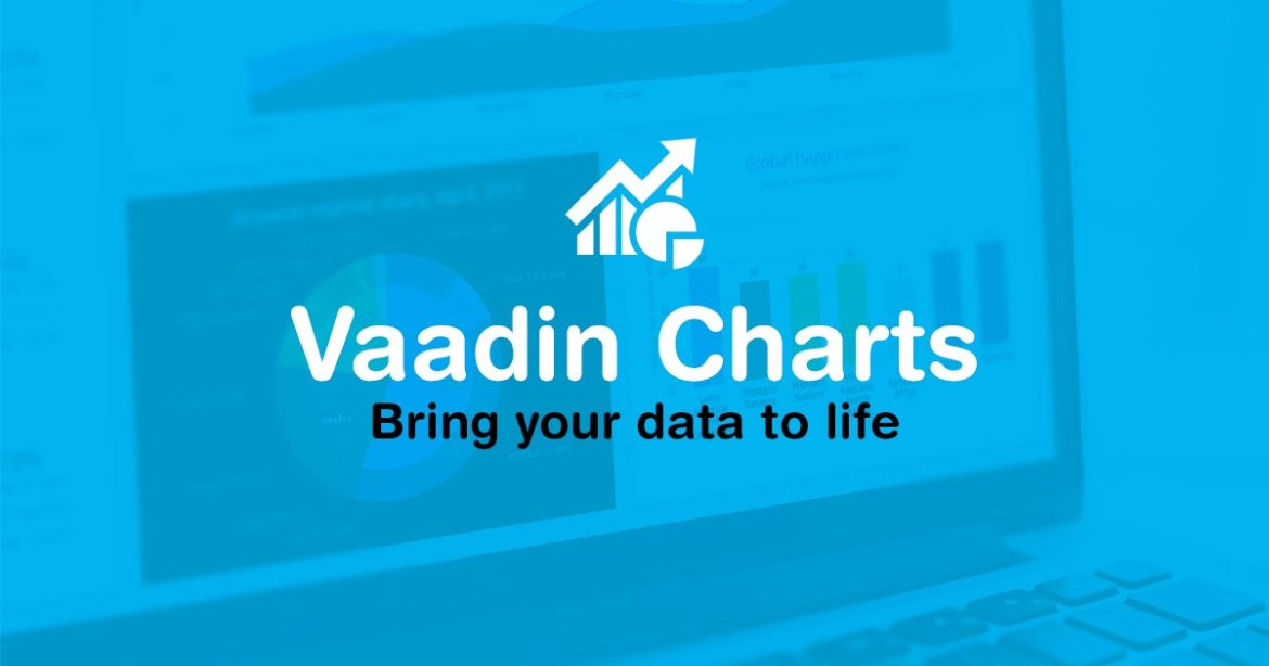 Bring your data to life with Vaadin Charts #webcomponents API . #jquery #polymer #angularjs