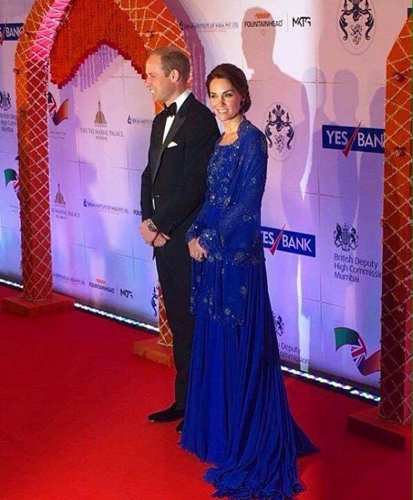 Everything from inside the Royal dinner at @TajMahalMumbai #RoyalDinner #RoyalVisitIndia