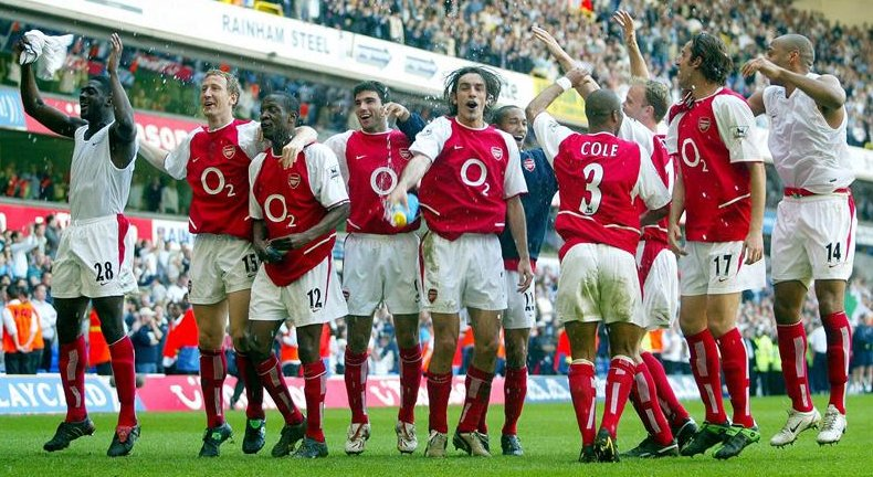 Image result for arsenal win league at white hart lane