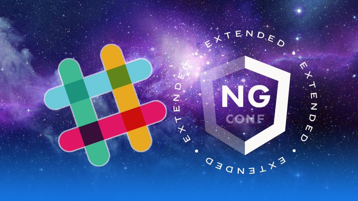 Do you attend some @ngconf extended? Join the party on Slack 🔥Join us 👉  #ngconf #Community