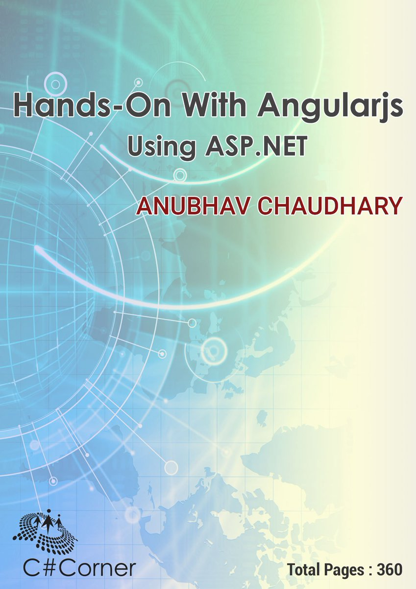 #JustPublished #AngularJS Using #ASPNET Book Available Now: FREE EBook by @Anubhavch689