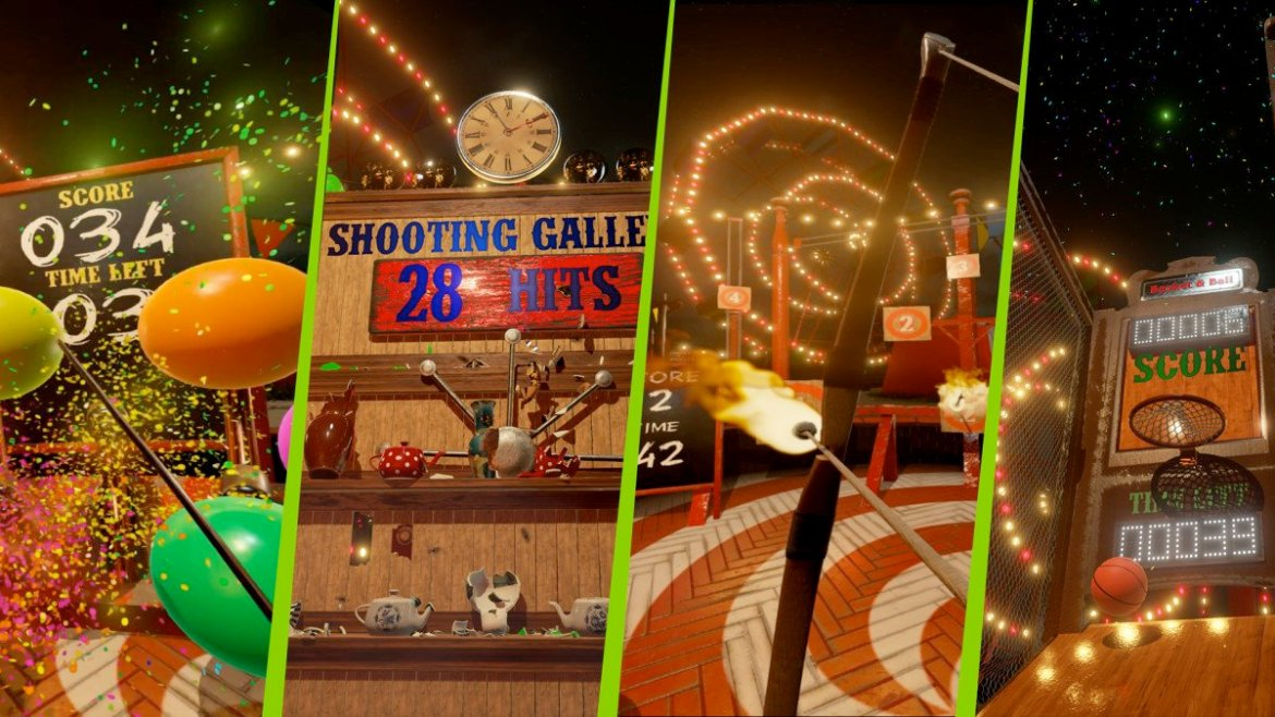 NVIDIA VR Funhouse highlights what NVIDIA GeForce GTX 1080 GPUs can do for #VR. #GameReady
