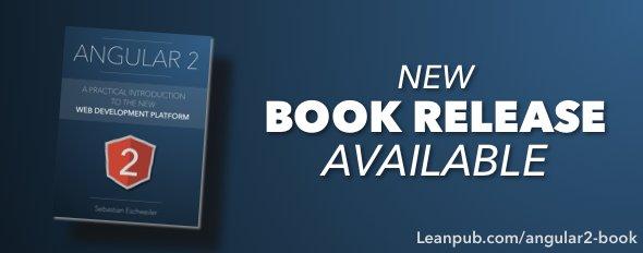 New Release of #Angular2 Ebook available on Leanpub  #AngularJS #webdev #javascript