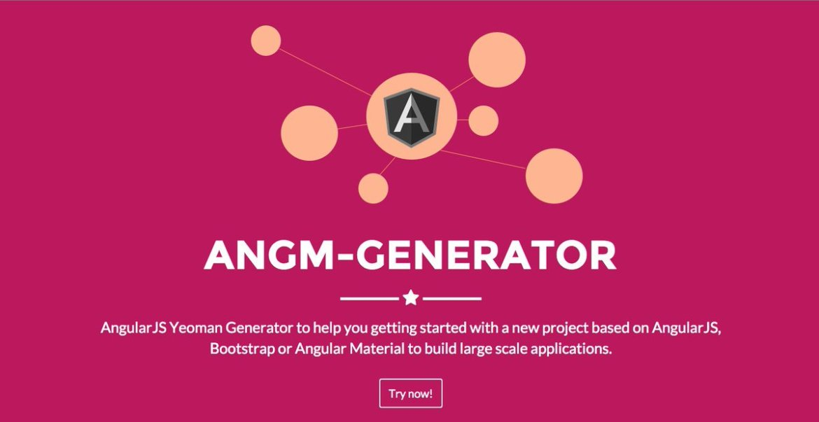 , Check it out new version #Generator-angm, #AngularJS Material and #bootstrap UI included.