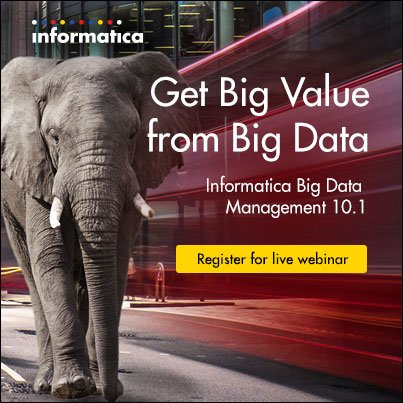 WEBINAR: Get Big Value from a Marketing #DataLake using Informatica #BigData Management 10.1