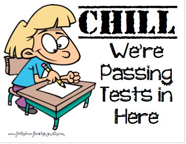 Image result for chill were passing test in here