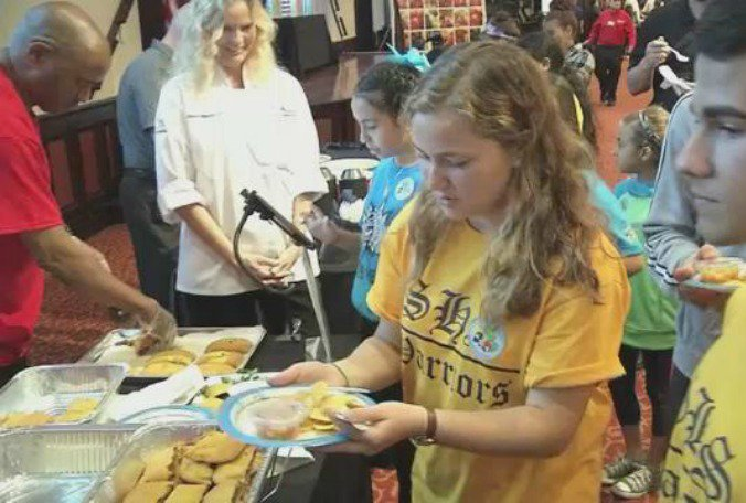 #Hillsborough students rate lunch tems for next year's school menus  @ErinOnTV
