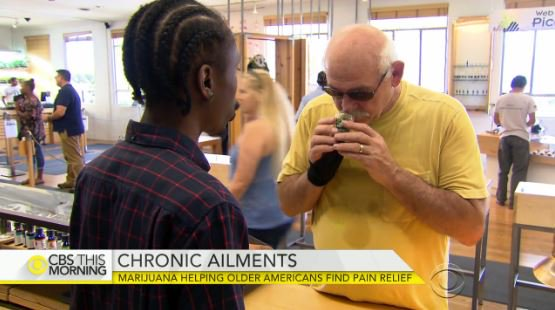 Marijuana helping older Americans find pain relief: