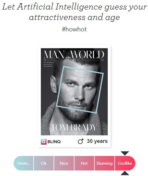 #HowHot: Let artificial intelligence guess your attractiveness & age:
