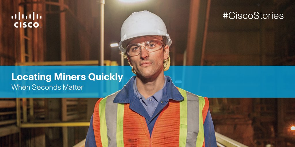 There's never been a better time to maximize safety underground.  @Goldcorp_Inc #NeverBetter