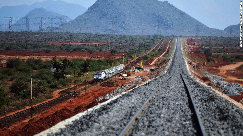 Kenya's ambitious $13 billion railway is taking shape, thanks to China: