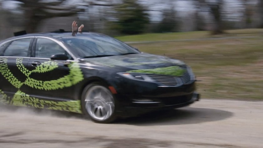 After 3K miles and 72 hrs of training, see how this car drives itself w/ #deeplearning: