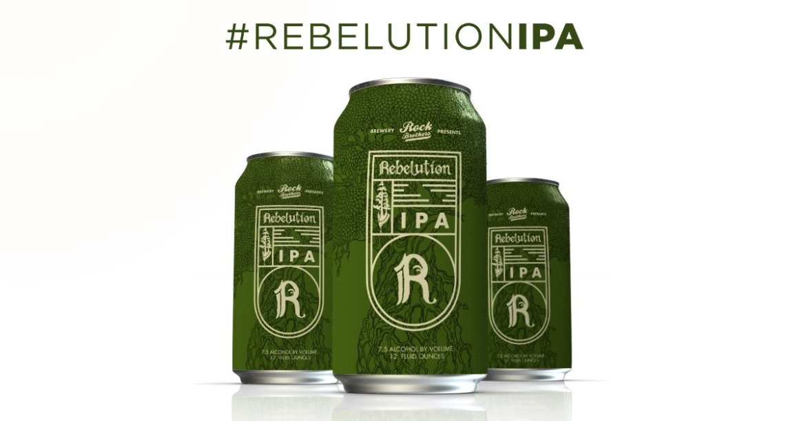 Rebelution & @RockBrosBrewing present #RebelutionIPA! Try it on 6/25 in St. Petersburg, FL: