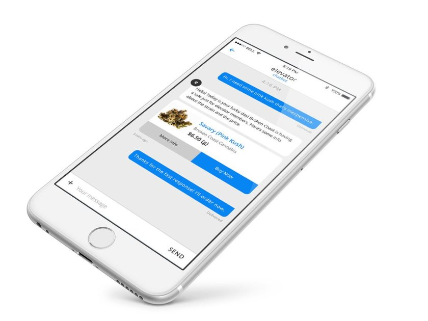 @liftcannabis CREATES TEXT-BASED ARTIFICIAL INTELLIGENCE APP VIA @ncvmedia 📲 #ISeekush $KPD