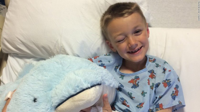 Boy who grew out hair for cancer patients now faces a stage 4 diagnosis