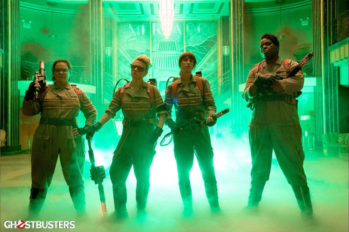 Strap on your proton pack: #Ghostbusters' virtual-reality experience to haunt Times Square: