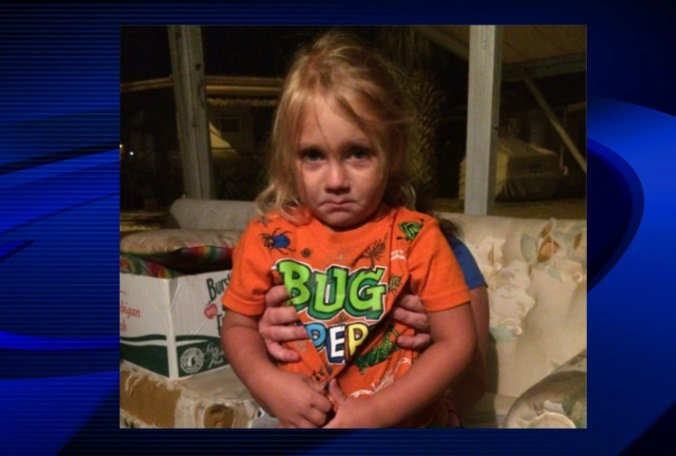Boy, 3, found wandering Lealman mobile home park in good health,found in T-shirt and diaper.