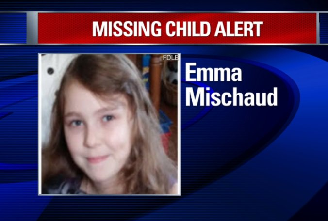 Missing child alert issued for Emma Mischaud, last seen at 4000 47th Street W, Bradenton.