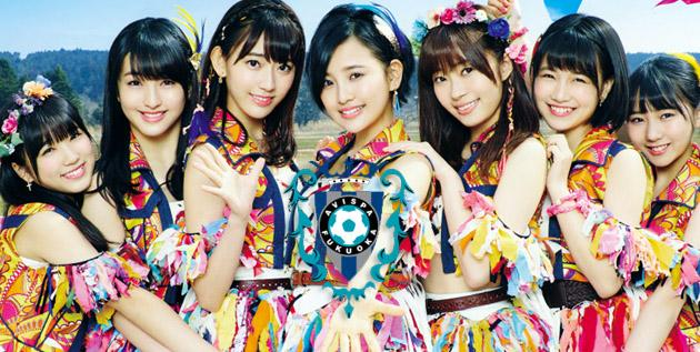 HKT48 be a special guest of J-League Match 14.5 2016 Avispa Fukuoka vs Shonan Bellmare  #Ai